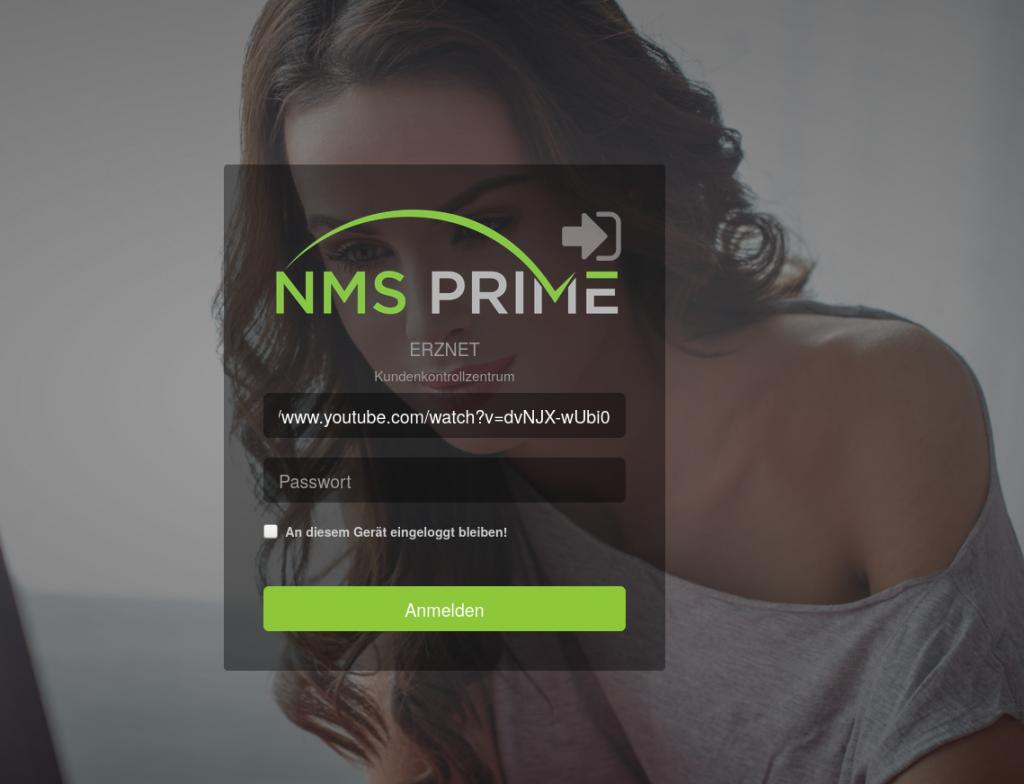 screenshot nms prime customer control app