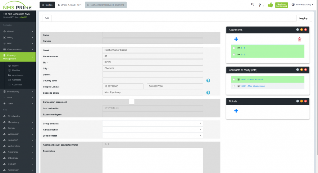 screenshot nms prime property app