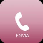 "telephone handset with ""Envia"" writing below"