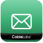 app icon with schematic envelope