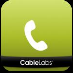 app icon with telephone handset
